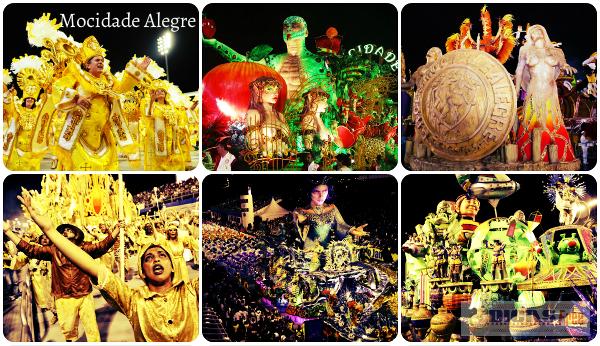 A escola se consagra a cada ano no Carnaval de São Paulo