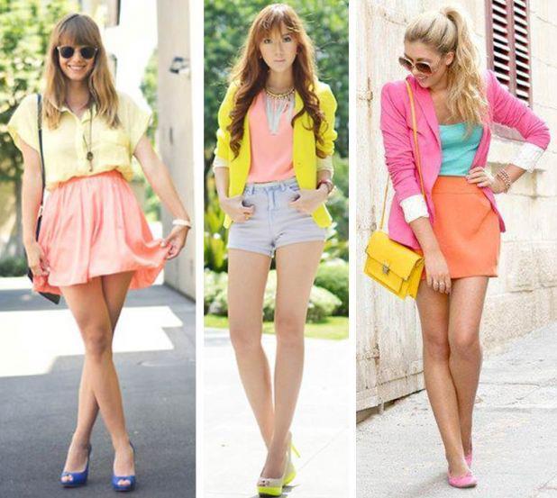 As meninas estão sempre por dentro da moda.