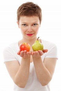 Um modelo precisa manter uma alimentação saudável todo o tempo.