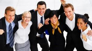 Felicidade no trabalho. (Foto:Reprodução) Créditos de imagem: http://www.artigos.me/