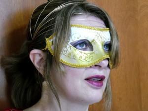 As máscaras de carnaval fazem muito sucesso durante essa época!