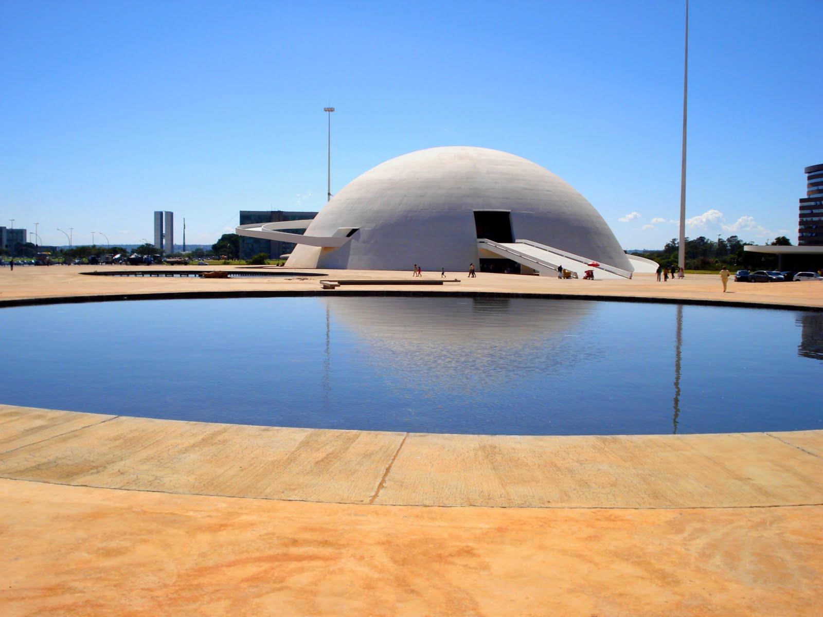 Museu Nacional de Brasília (foto: reprodução)