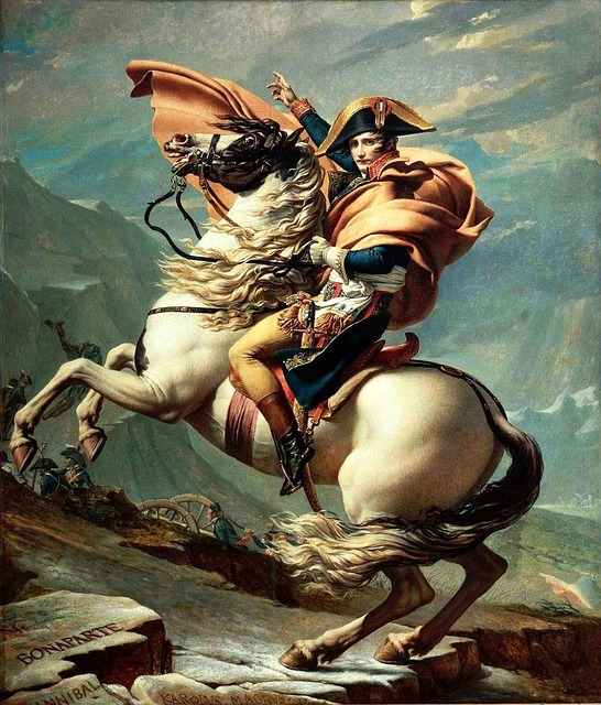 Quadro de Napoleão Bonaparte (foto: reprodução)