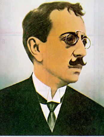 Olavo Bilac foi um dos poetas mais importantes da Literatura Brasileira