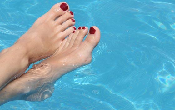 O cuidado com os dedos dos pés devem ser diários