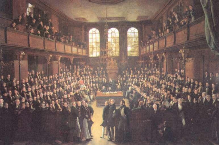 Parlamento inglês.