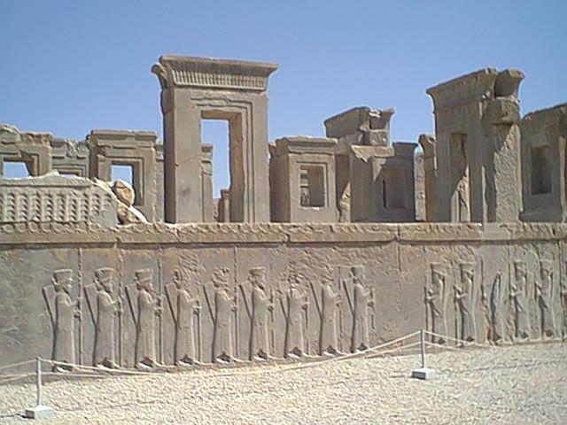 Ruínas de Persepolis, mais antiga capital persa