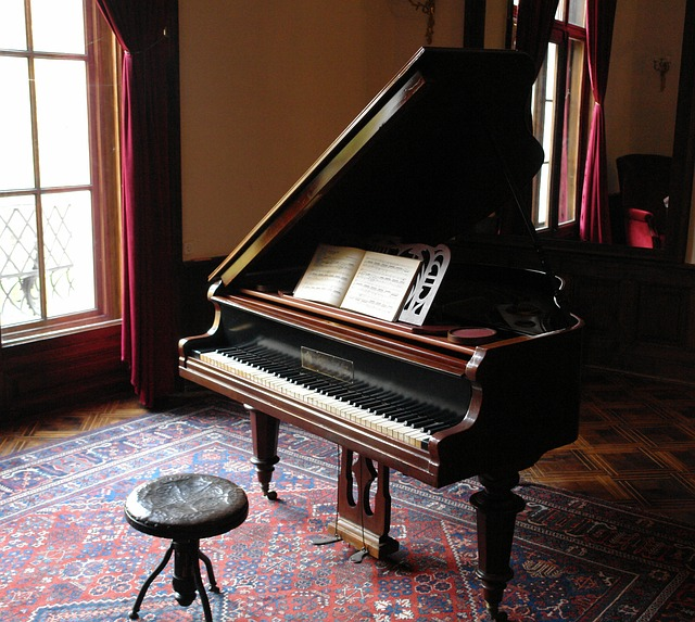 Os pianos são lindos instrumentos de sons harmônicos.