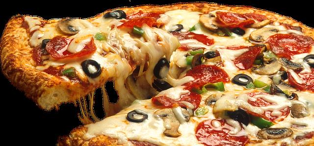 Receita de Pizza de Calabresa.