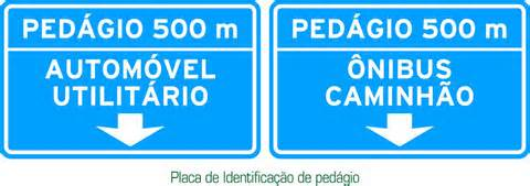 placa de transito