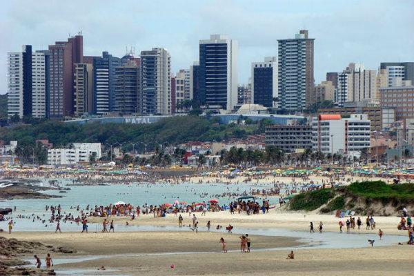 Praia dos Artistas - Natal (Foto:Reprodução) Créditos de imagem: http://hoteisabeiramar.com.br/