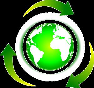 Reciclar é salvar o meio ambiente.