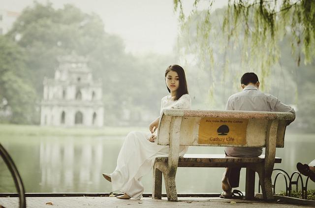 Relacionamento quando chega ao fim, pode machucar.