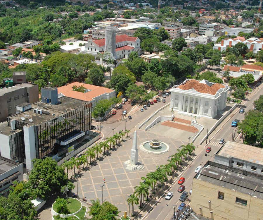 Rio Branco - Atual capital do Acre