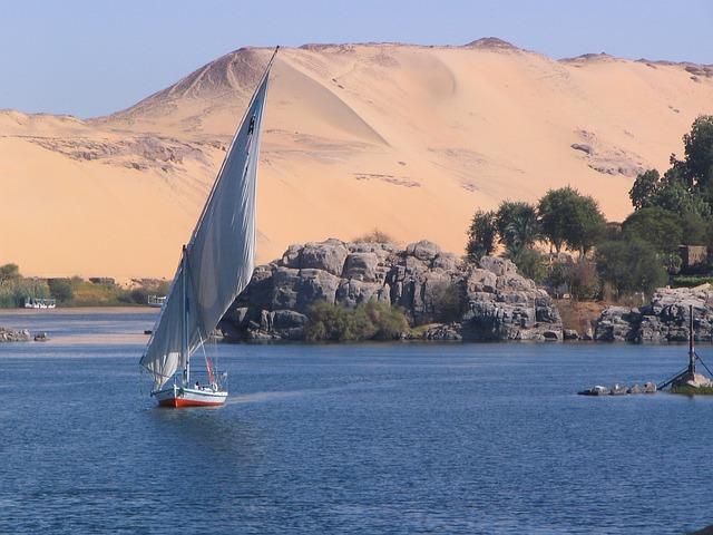 O Nilo é o maior rio do mundo.