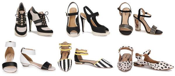 Sapatos anos 60 (Foto: Reprodução)