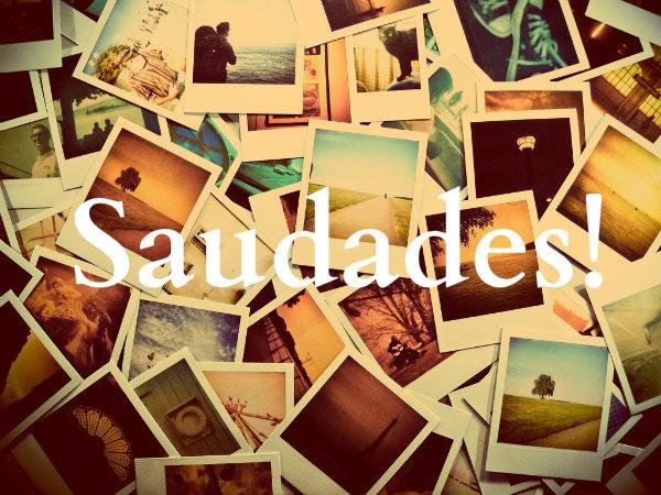 Saudades (Foto: Reprodução)