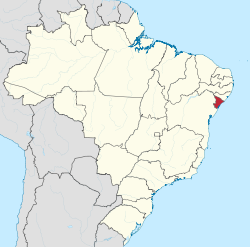 Sergipe - menor Estado do Brasil