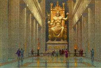 Estátua de Zeus.