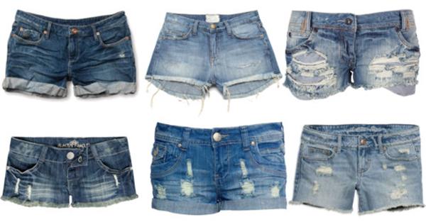 Os shorts jeans devem ser devidamente usados de acordo com seu corpo.