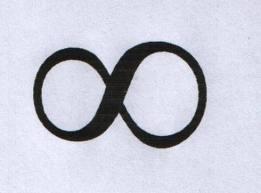O símbolo do infinito