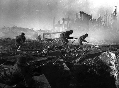 Tropas em Stalingrado