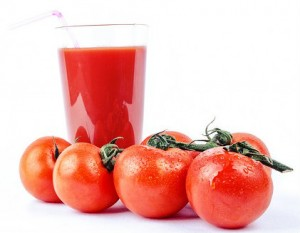Segredos do suco de tomate.