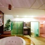 suite africana banheira