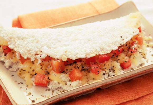 A tapioca pode ser substituída pelo pão francês, pois possui as mesmas proteínas e metade das calorias