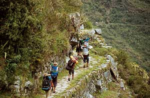 A trilha é cansativa e pode demorar cerca de dias