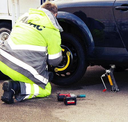 Aprenda a fazer a troca dos pneus.