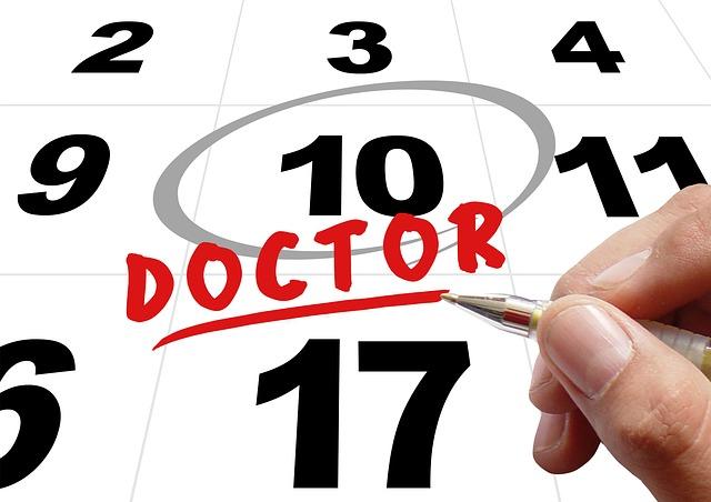 A validade da receita depende do dia do retorno ao médico.