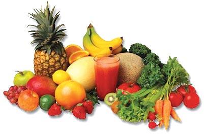 Verduras e frutas (Foto: Reprodução)