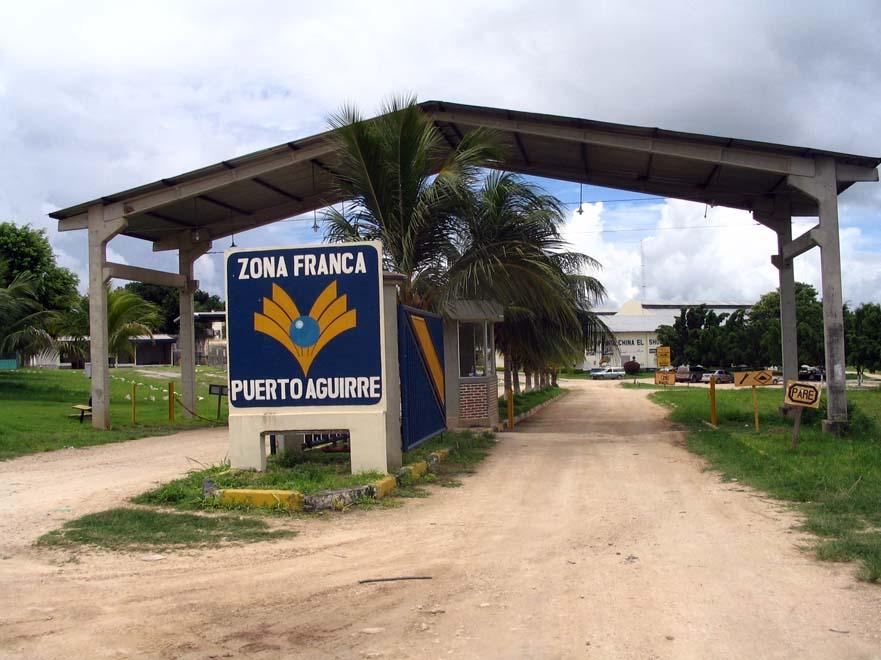 Zona Franca de Puerto Quijarro